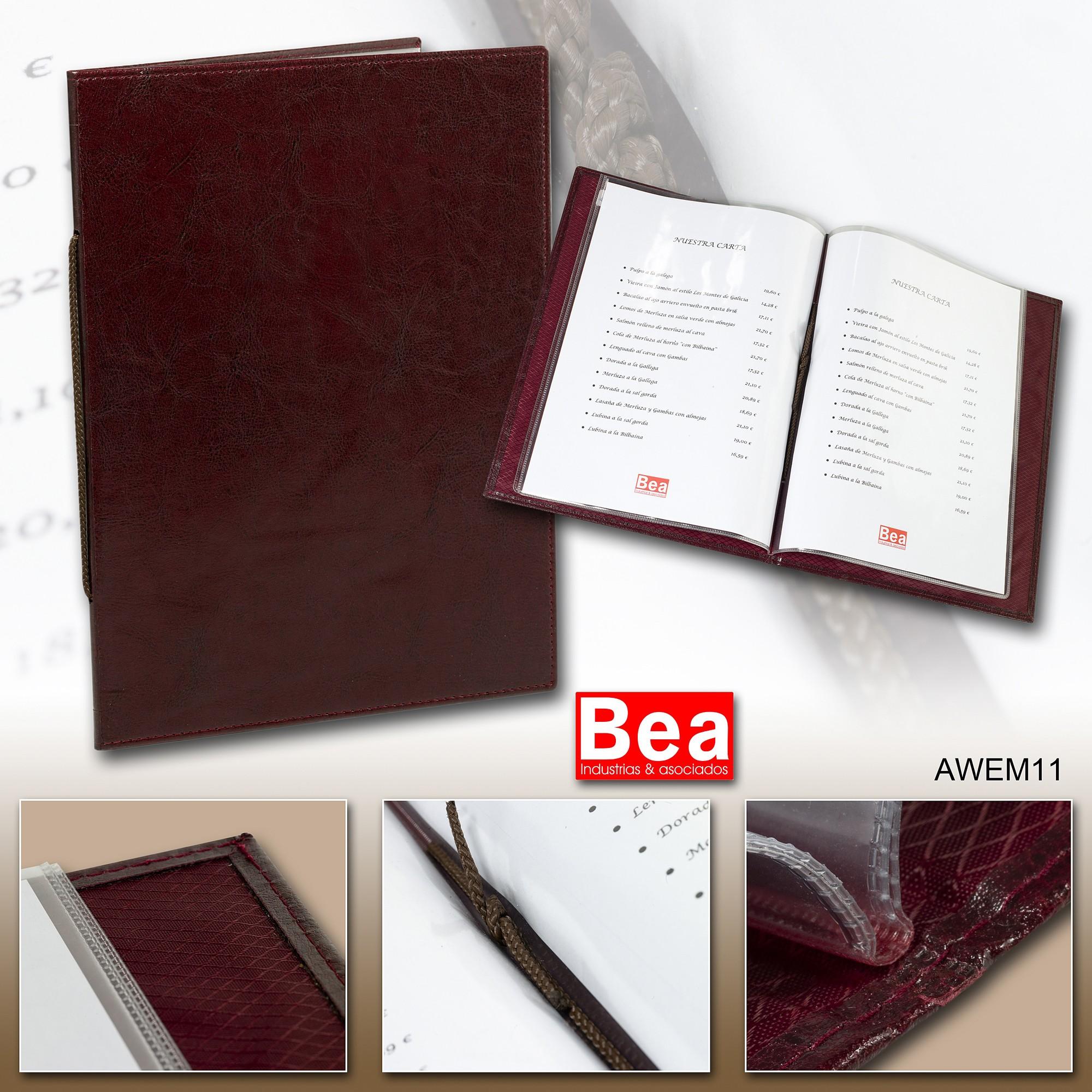 carta para restaurantes podrá ser producida en diversos combinados